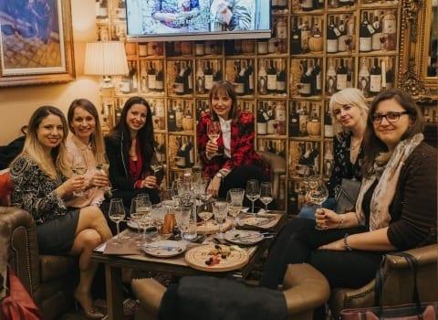 Vinsko druzenje u kavani Procaffe Zagreb