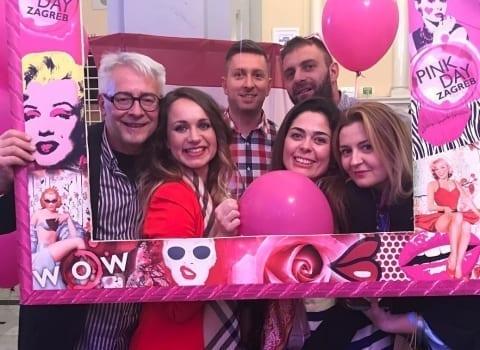 Pink day druzenje Andrea Pancur i prijatelji