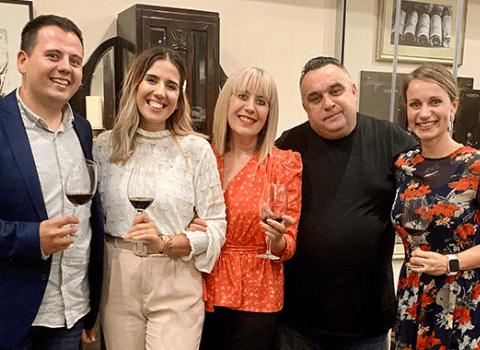 Andrea Pancur Vinarija Magistra i Tomislav Stiplosek