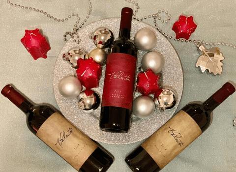 Boce vinarije Valenta za Bozic