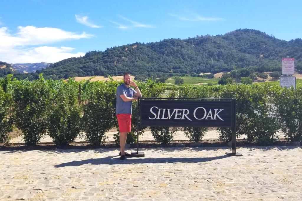Marko Kalezic u Silver oak vinariji