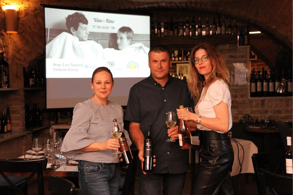 Doris Srpek, Jelena Bulum, Milenko Matić