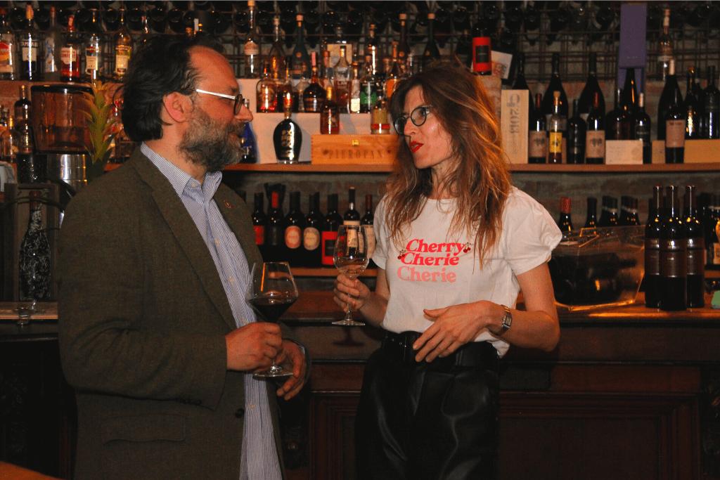 Jelena Bulum i prof Tomislav Brlek