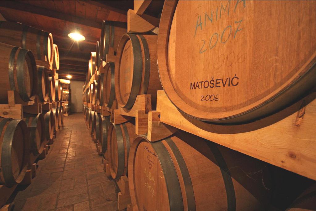 Drvene bačve vinarije Matošević