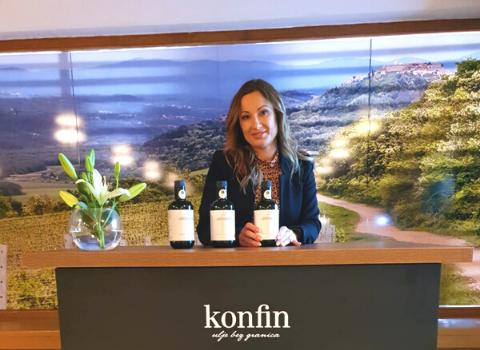 Katja Gašparini i Konfin maslinovo ulje