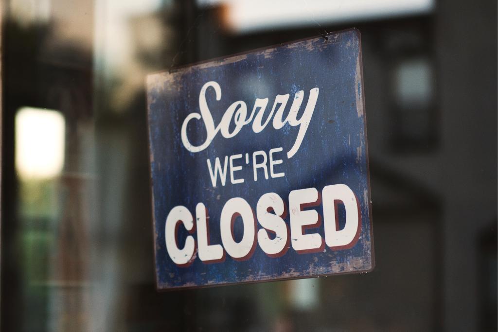 Zatvoreni restorani