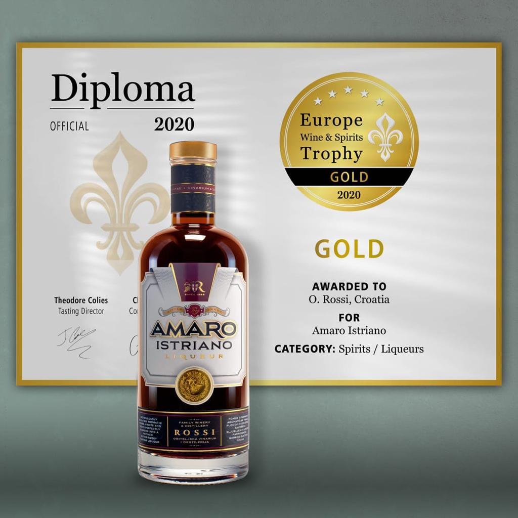 Nagrada za Amaro Istriano